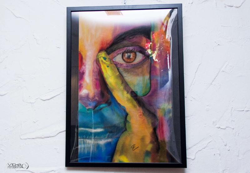 Patricia Clemente Exposición de pintura en el entalto